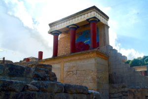 Palace of Knossos, Crete, Greece