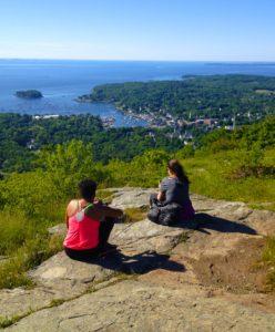 Hiking Mount Battie Camden Maine