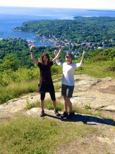 Hiking in Camden Maine