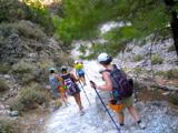 Hike the SAmaria George on the island of Crete