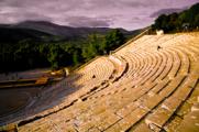 Hellenistic Amphitheatre at Epidaurus Greeece