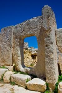 Ancient Goddess temple Hagar Qim Malta