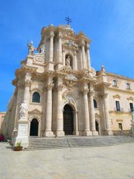 Doumo of Syracusa in Sicily, Italy