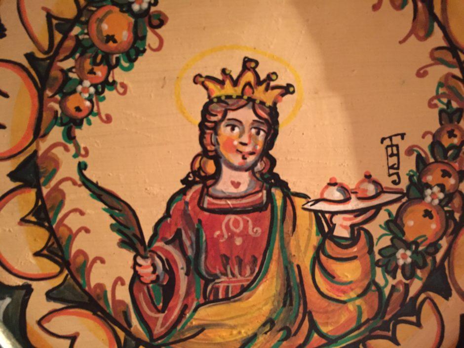 Saint Agatha of Catania Sicily, Italy