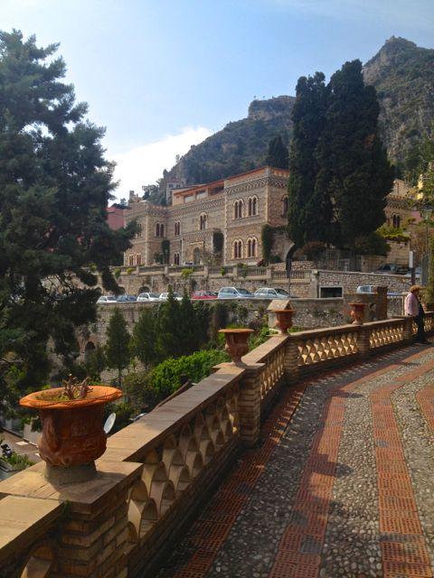 Famous seaside resort Taormina in Sicily
