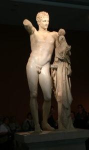 Hermes of Praxiteles Olympia Greece