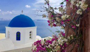 Scenic Oia, Santorini Greece